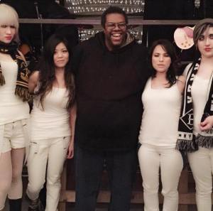 Daryle Lamont Jenkins and The Droogettes