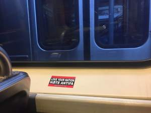 Philadelphia Anti-Antifa Hate Train Rolling