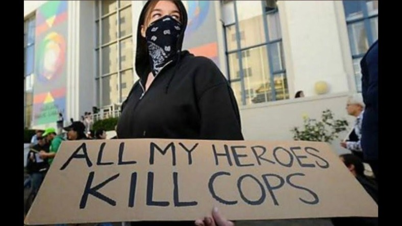 ANTIFA - ALL MY HEROES KILL COPS
